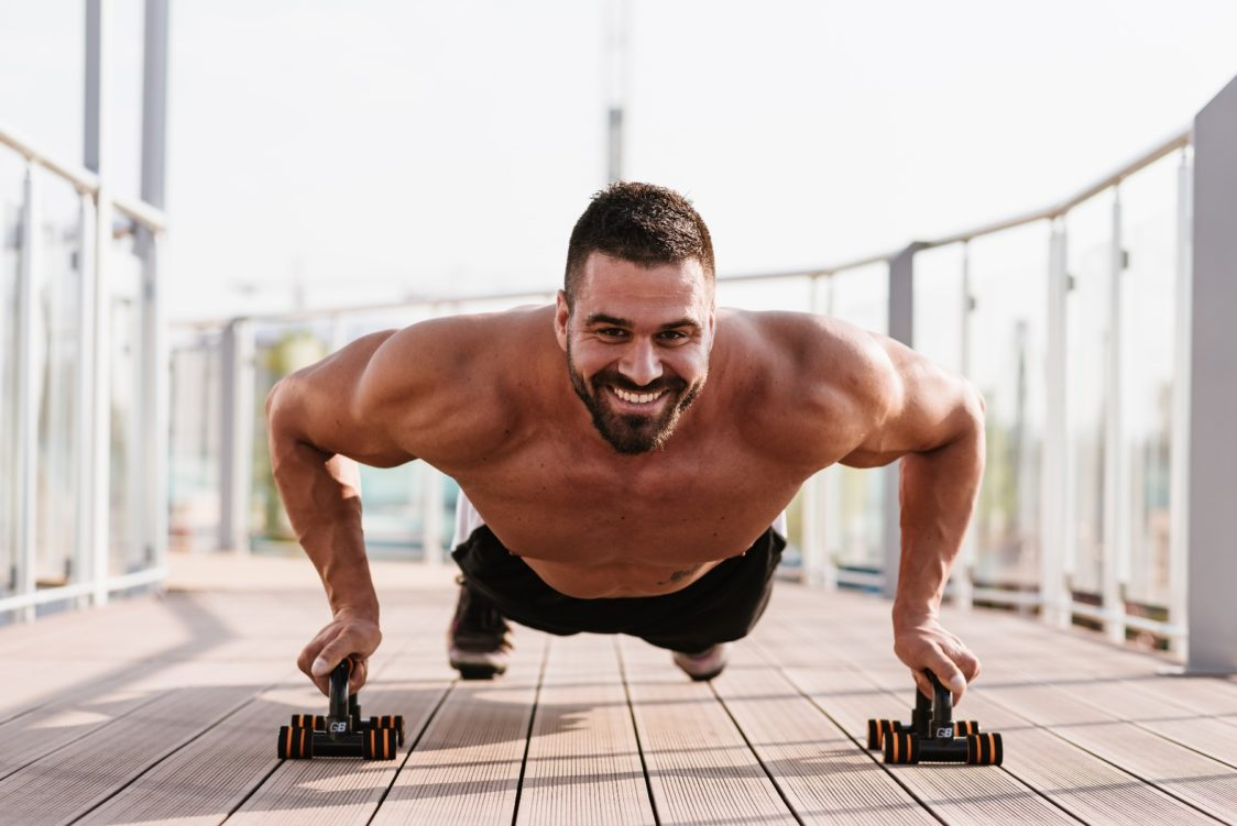 outdoor training - will boost your self-confidence