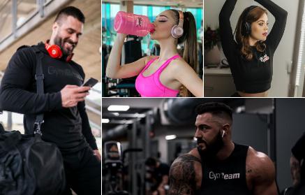 Top 17 fitness podcastov o cvičení a zdravom stravovaní - web GymBeam
