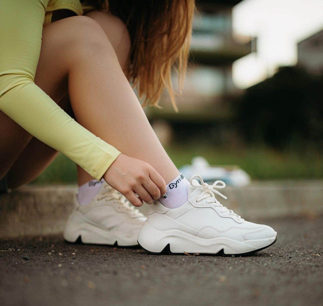 Burning calories while running