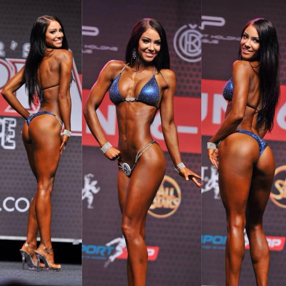 Stephanie Davis and her transition from photo modeling to fitness and IFBB Fitness Bikini Competition