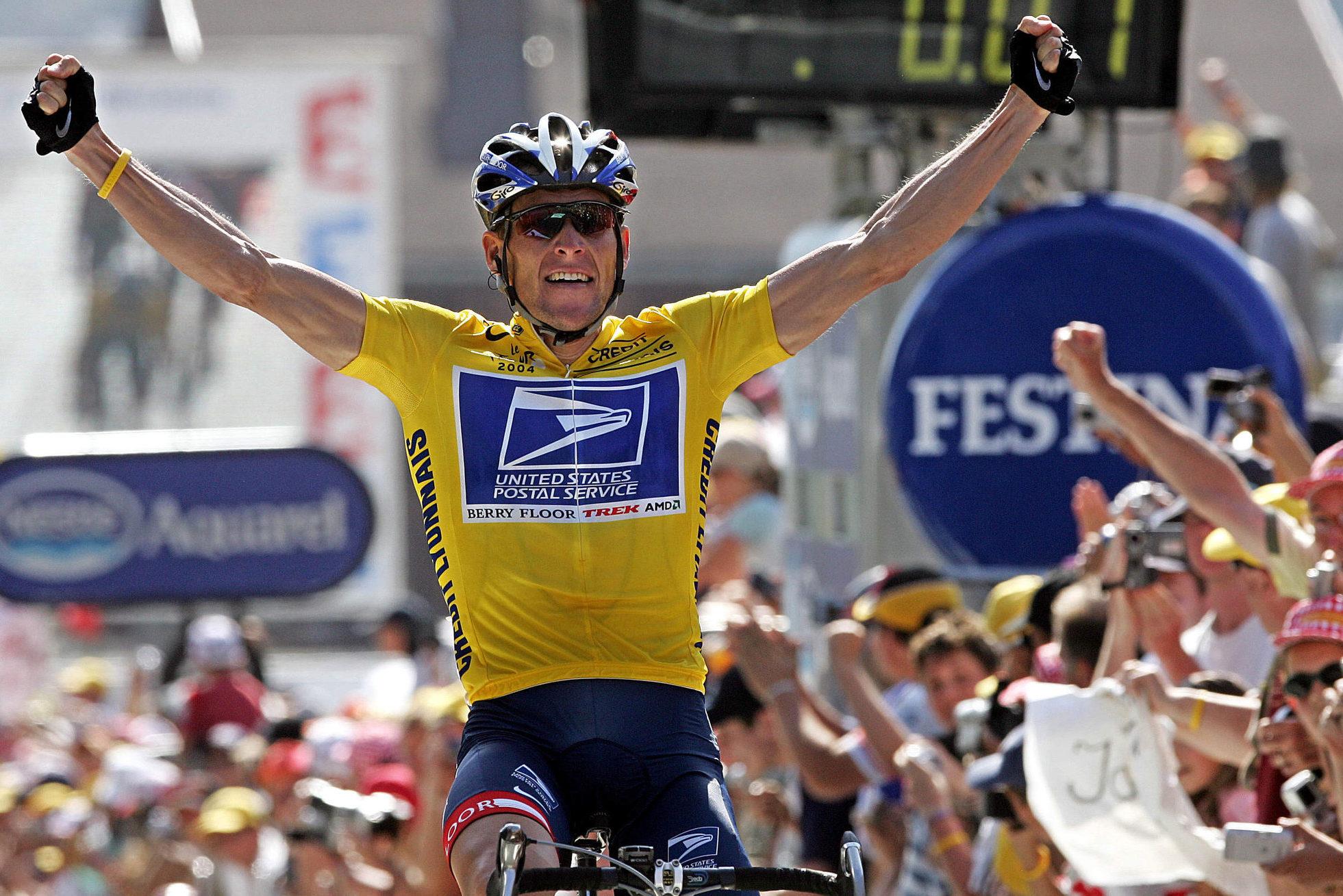 Lance Armstrong Tour de France winner