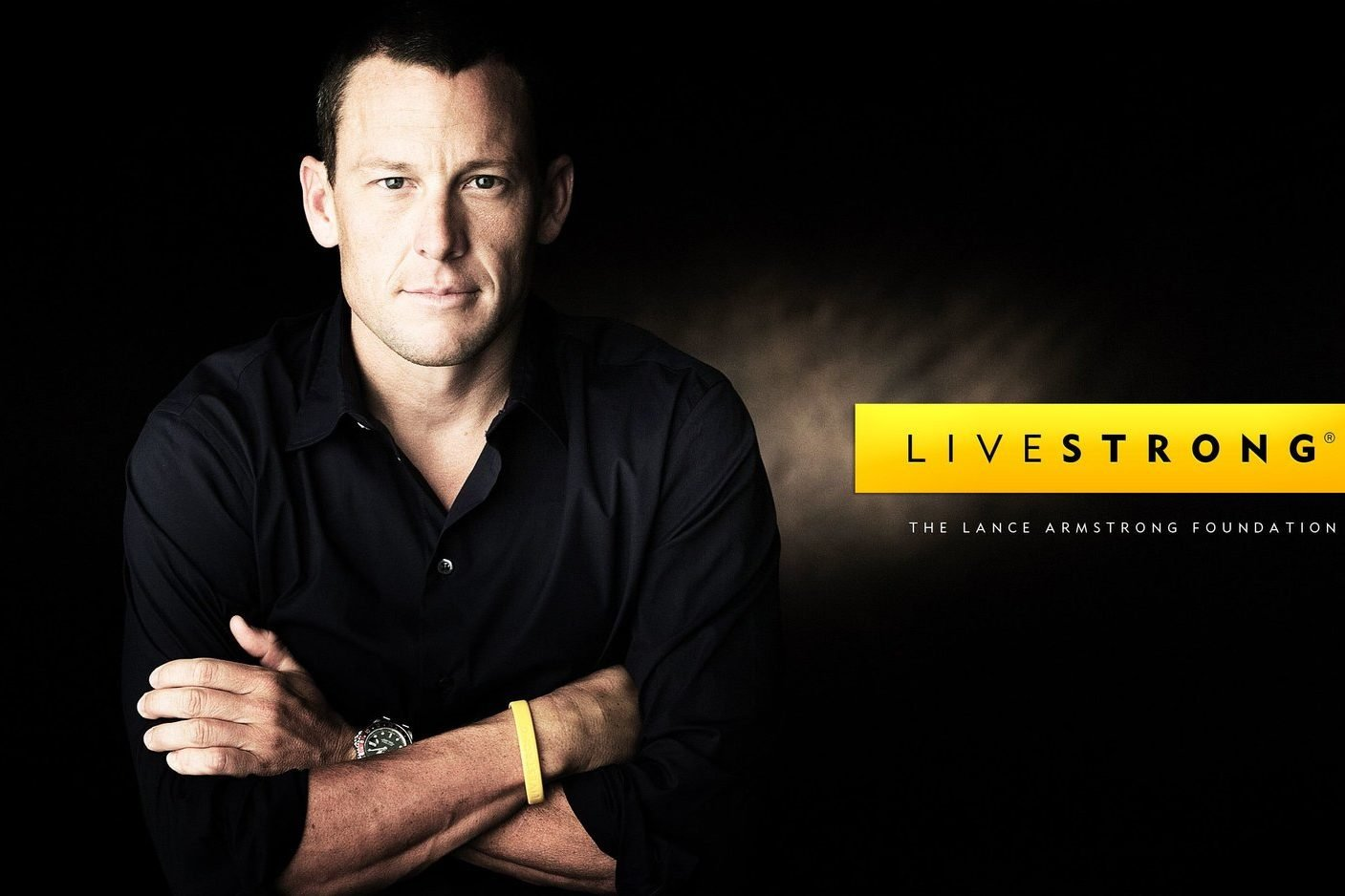 Lance Armstrong beat cancer