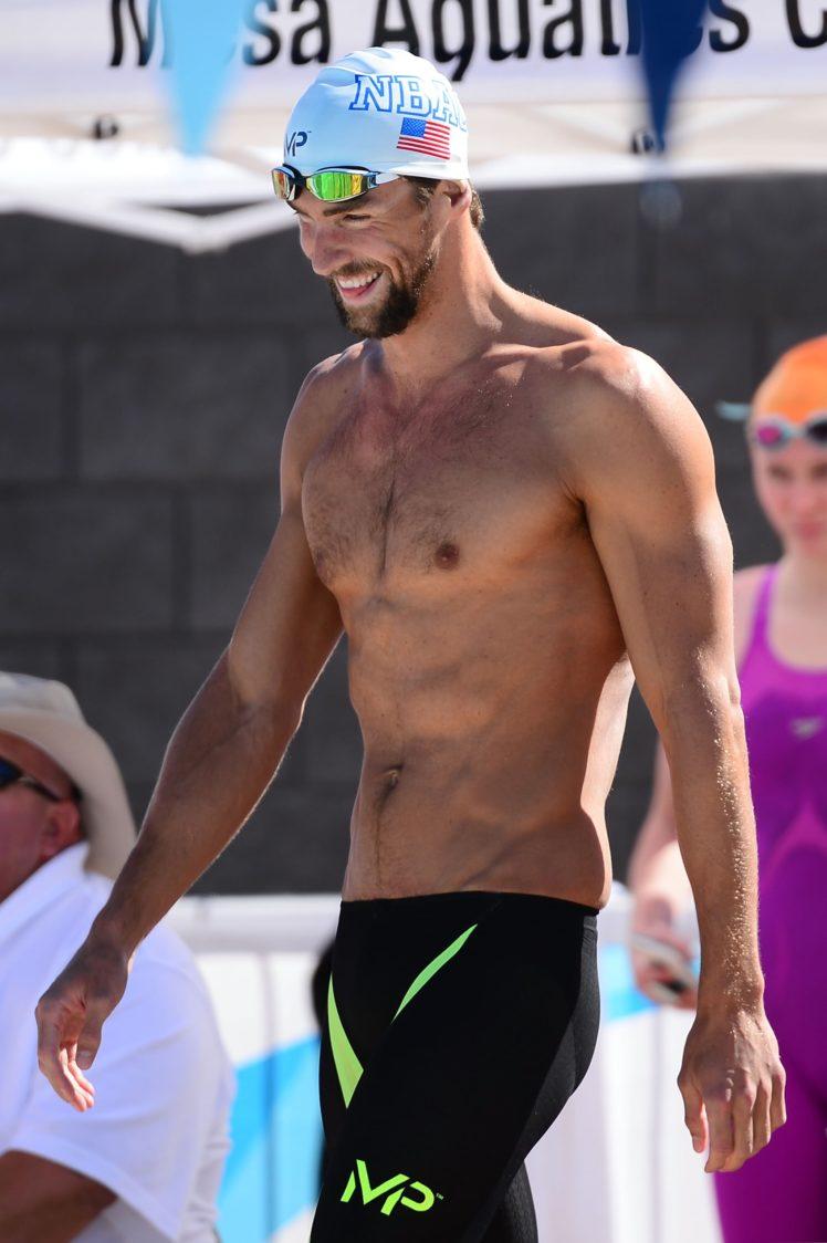 Michael Phelps' character