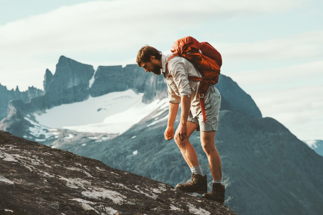 Why it's important to replenish your energy levels when hiking and cycling?