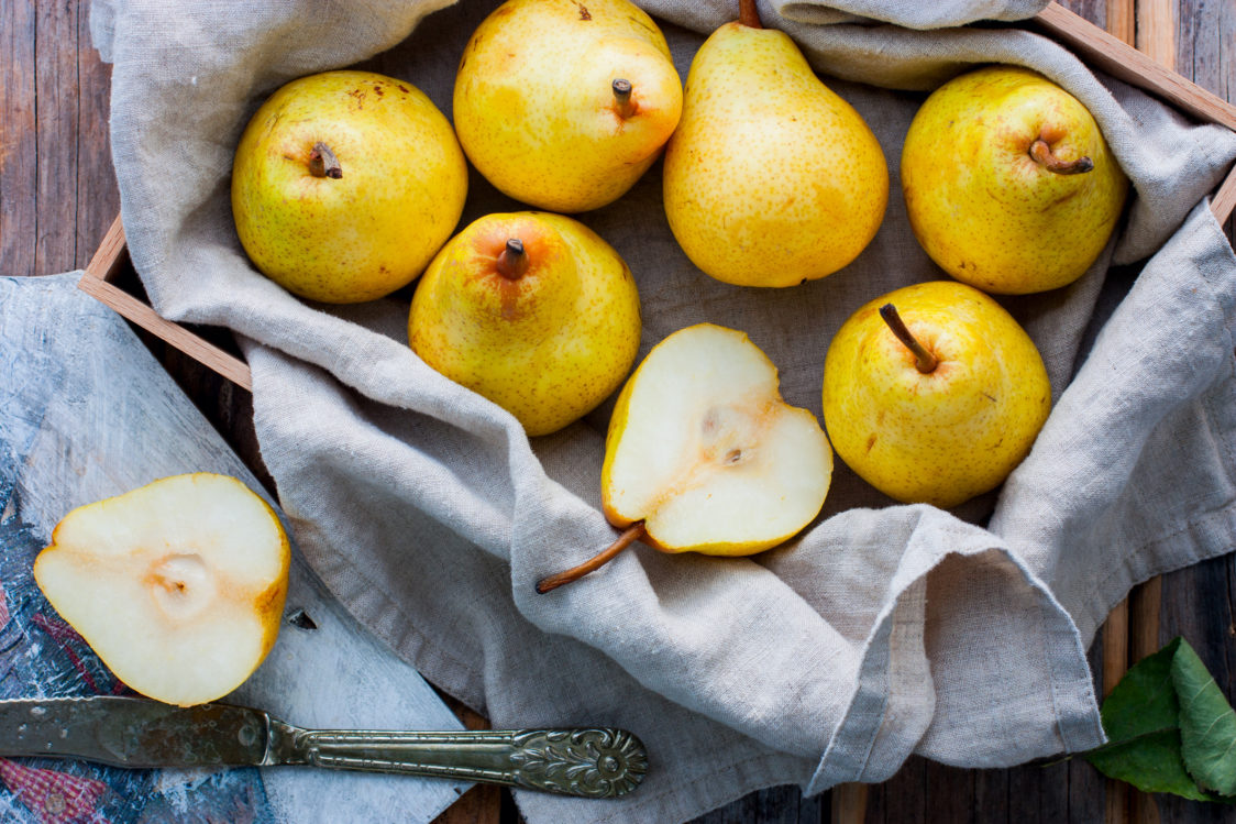 What can you make from pears?