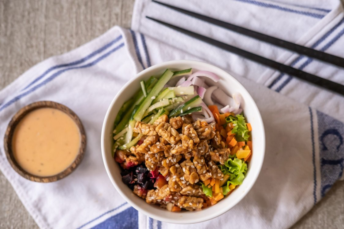 Tempeh as a plant-based alternative to meat