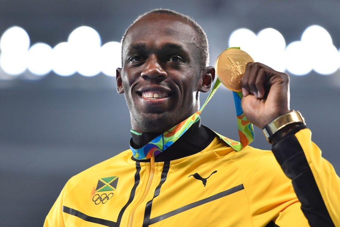 Usain Bolt na Igrzyskach Olimpijskich w Rio