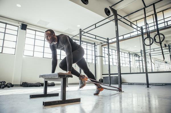 Trening Usaina Bolta