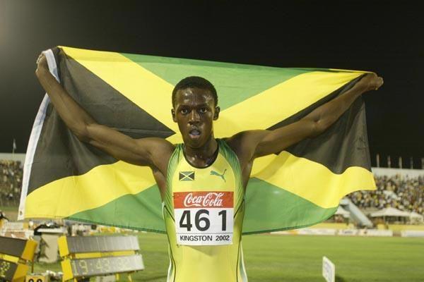 Mistrz Świata Juniorów Usain Bolt
