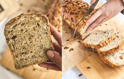 Web - Mrkvový chlieb s tekvicovými semienkami