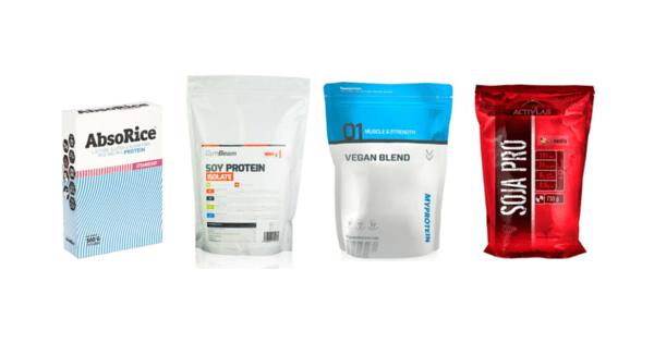 Veganské proteiny
