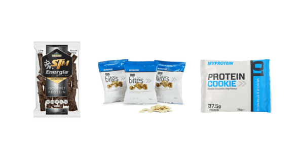 Proteinové snacky