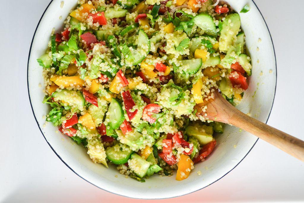 quinoa Svěží salát z Quinoa