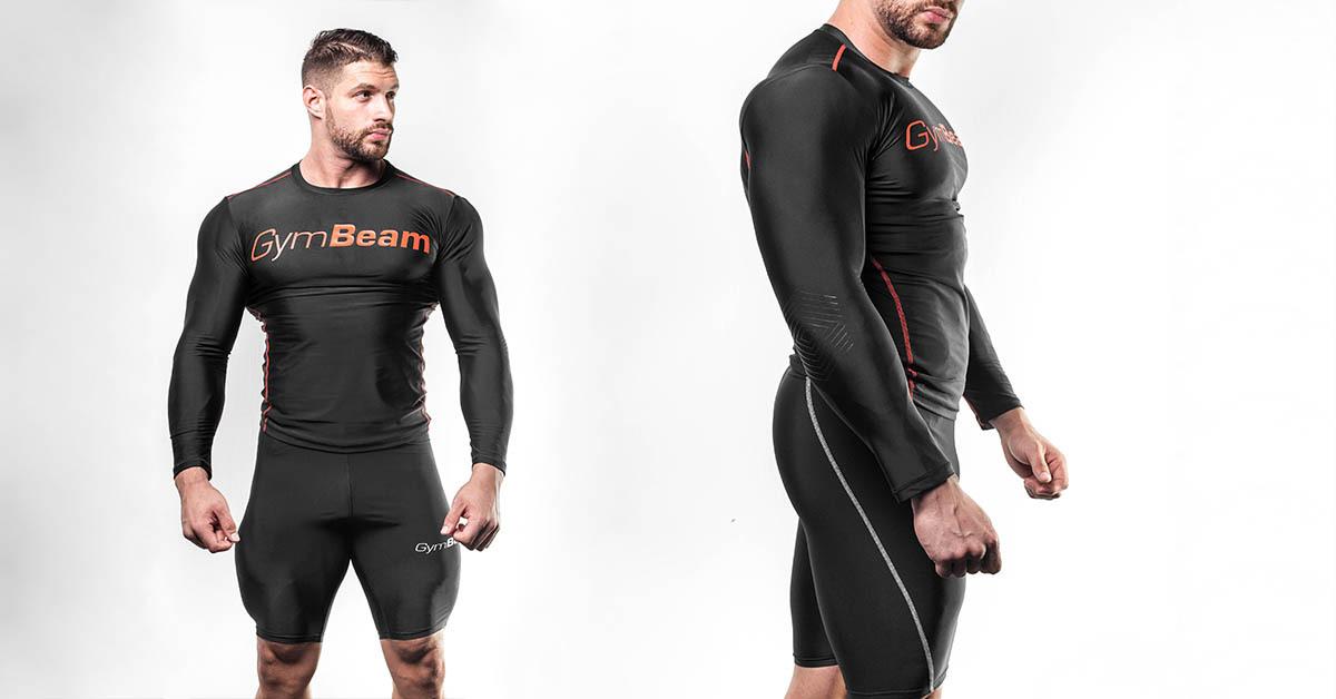 Kompresní šortky Black - GymBeam Clothing