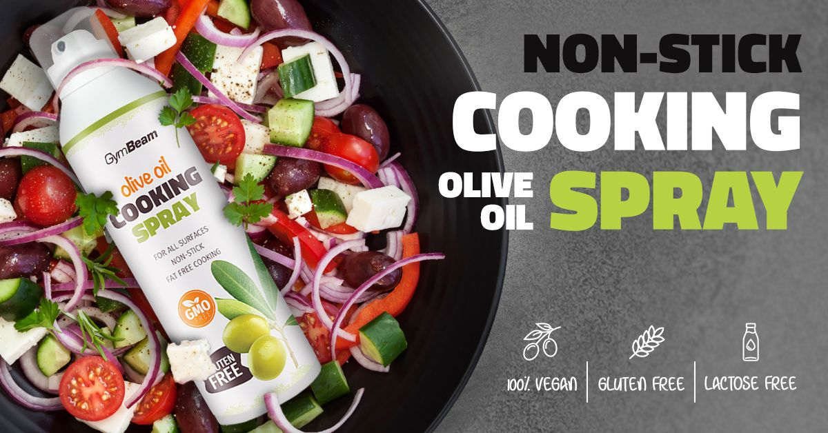 Sprej na vaření Olive Oil Cooking Spray 201 g - GymBeam
