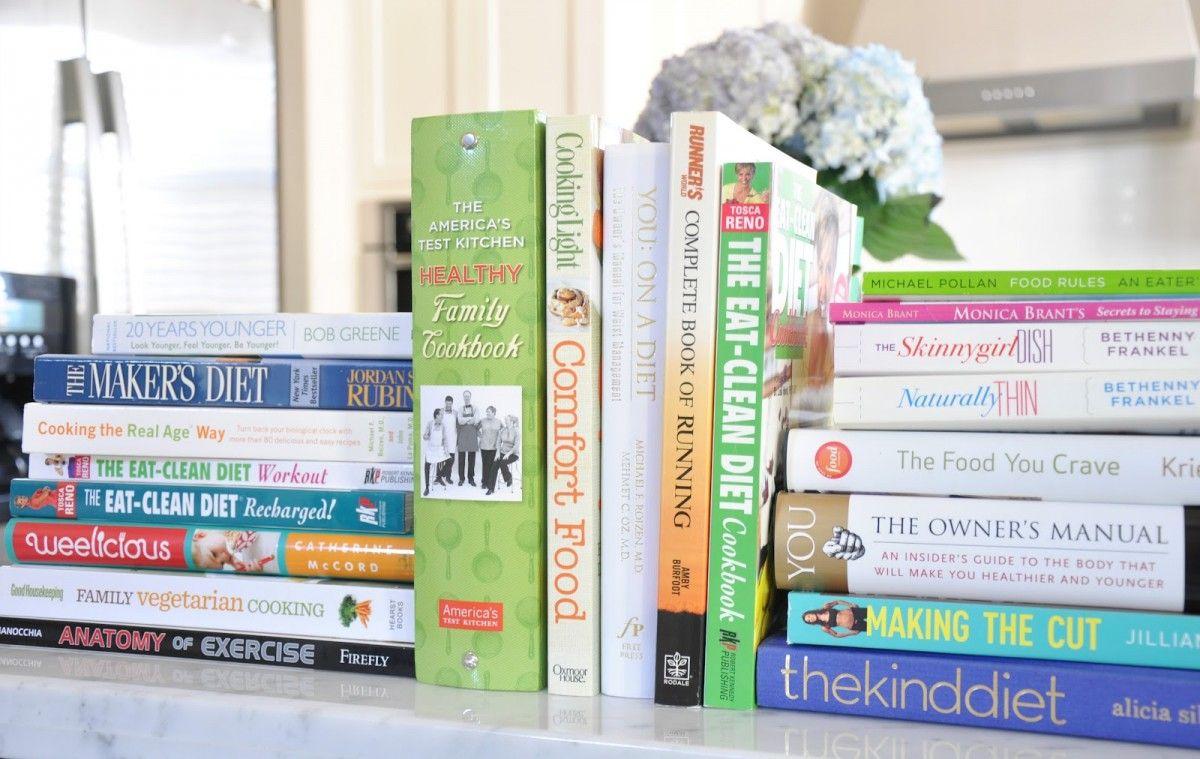 fitness knihy - tipy na dárky vánoční