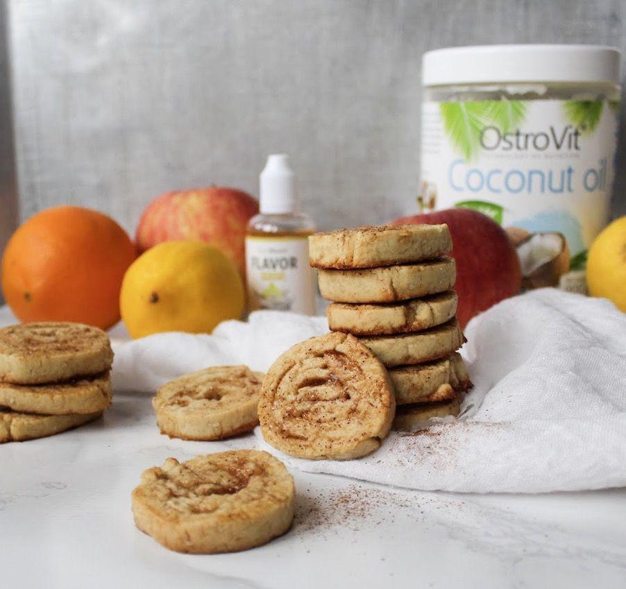 skořicové sušenky - vánoční pečivo fitness