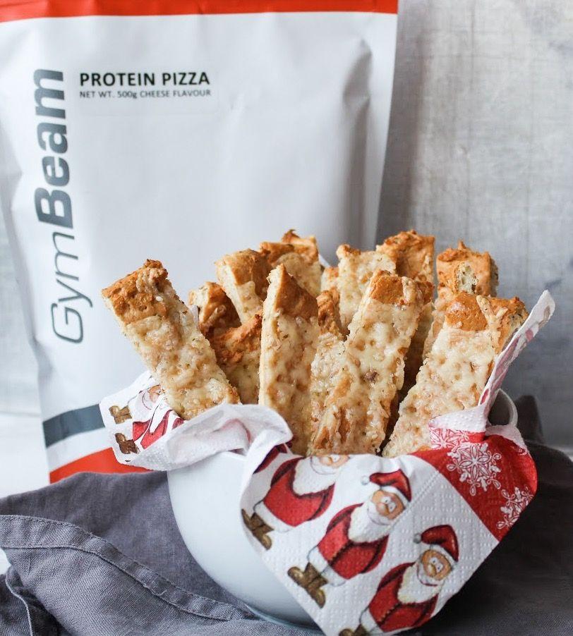 proteinové pizza tyčinky - vánoční cukroví fitness