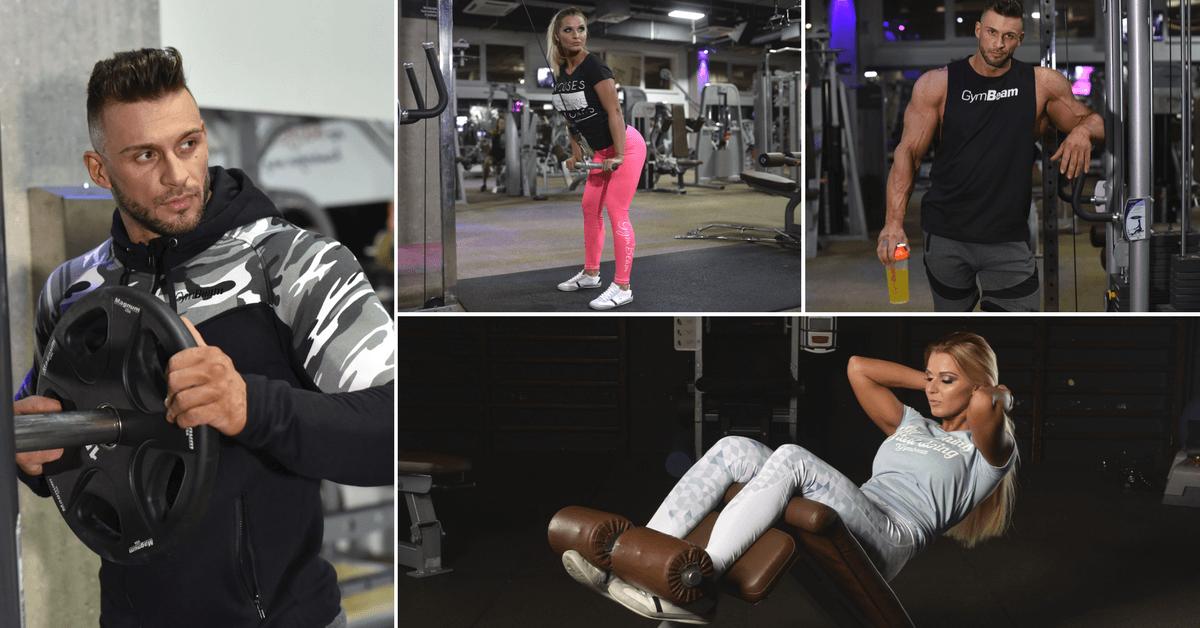 fitness oblečení pro muže a ženy