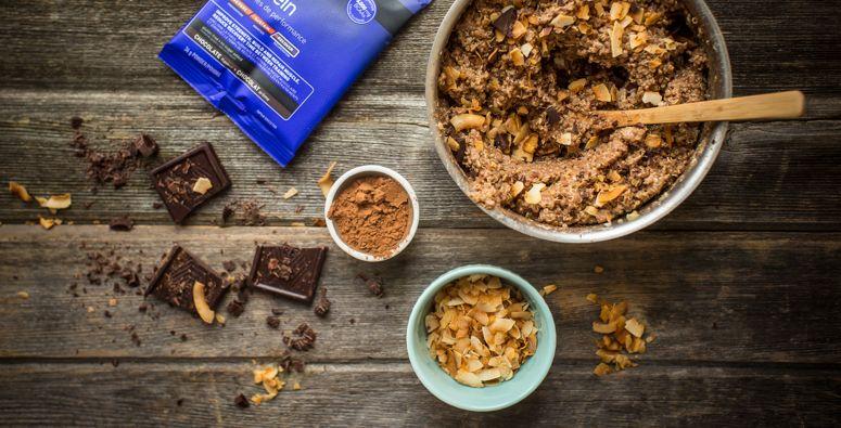 Quinoa proteinový puding recept