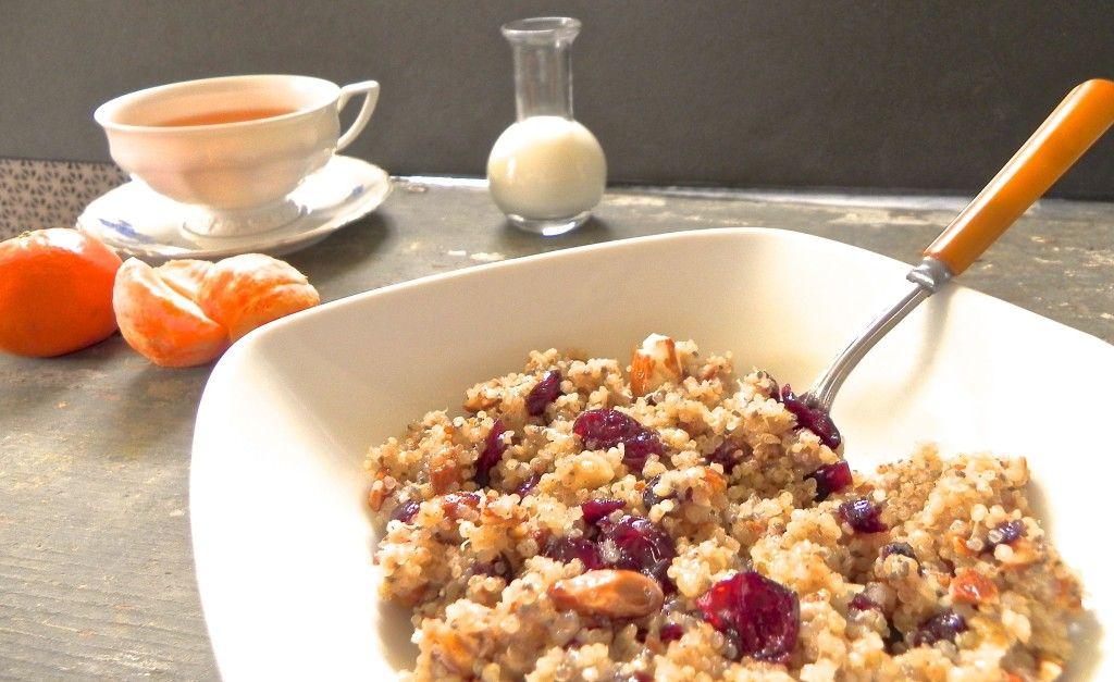 snídaňová quinoa s chia semínky