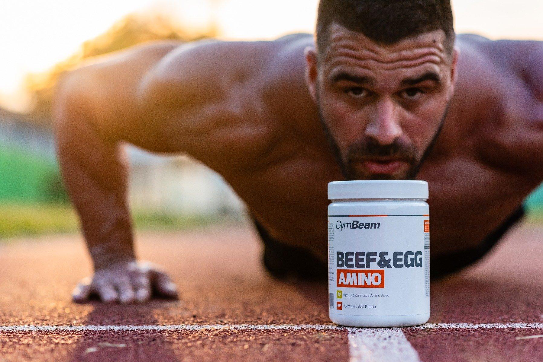 Aminokyseliny Beef&Egg 500 tab - GymBeam