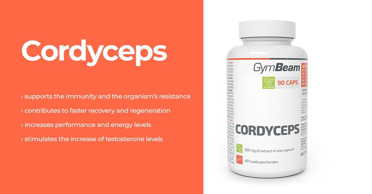 Cordyceps - GymBeam