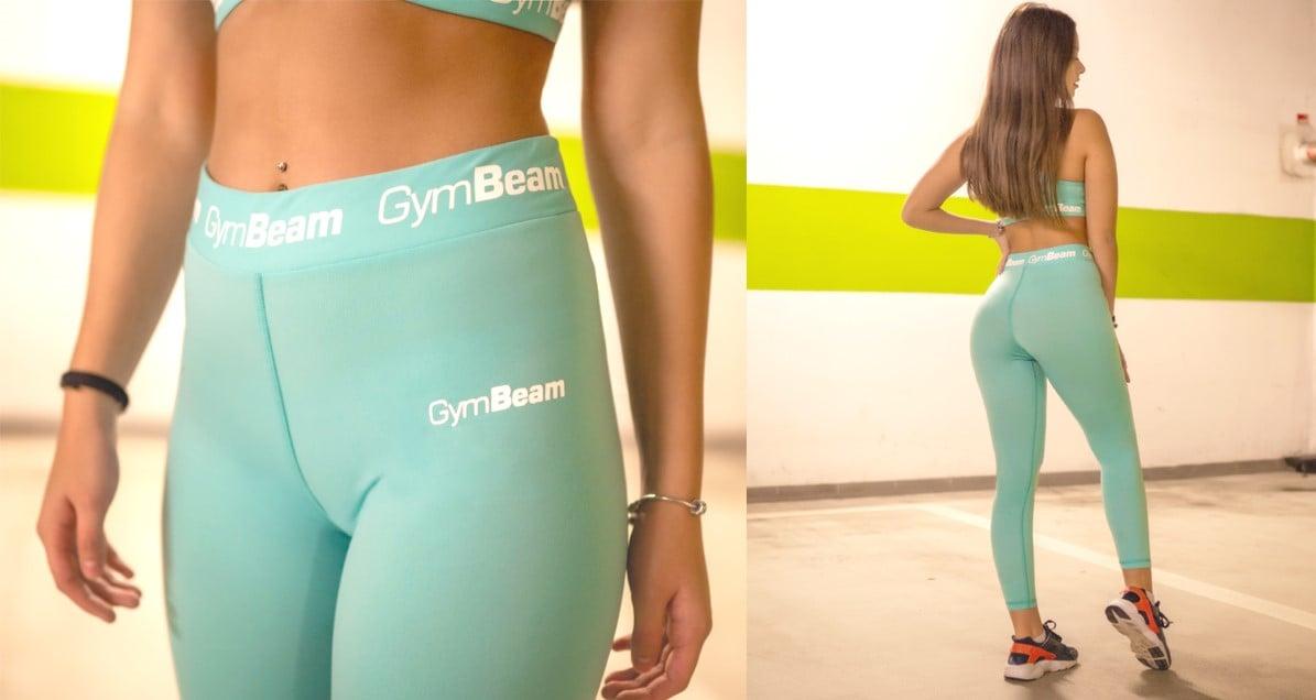 Dámské legíny Simple Turquoise - GymBeam