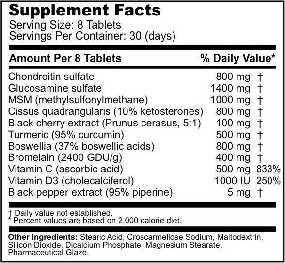 tabulka nutričních hodnot nepatentované směsi