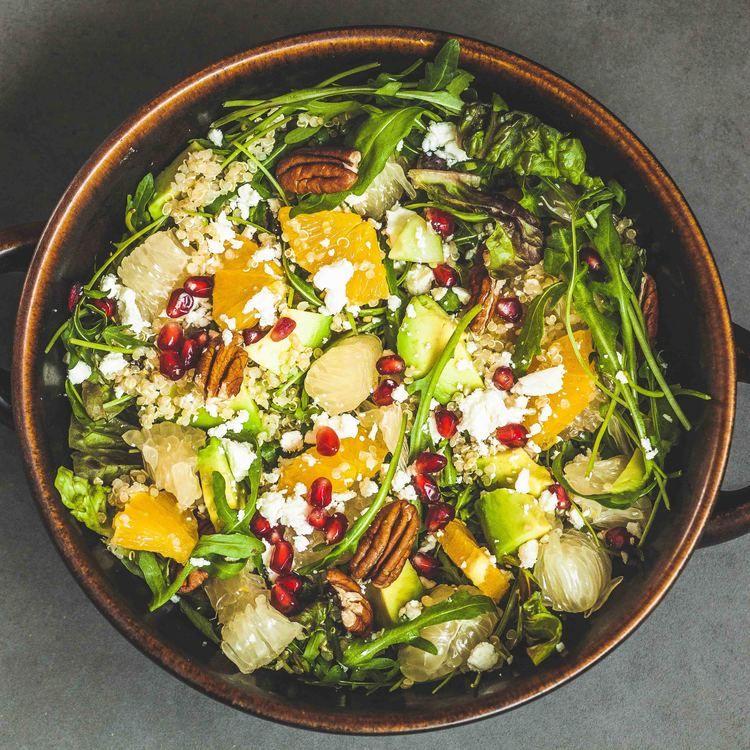 quinoa salát avokádový salát s Quinoa