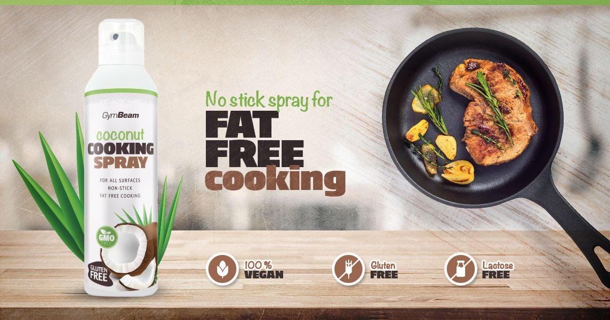 Sprej na vaření Coconut Cooking Spray - kokosový sprej - GymBeam