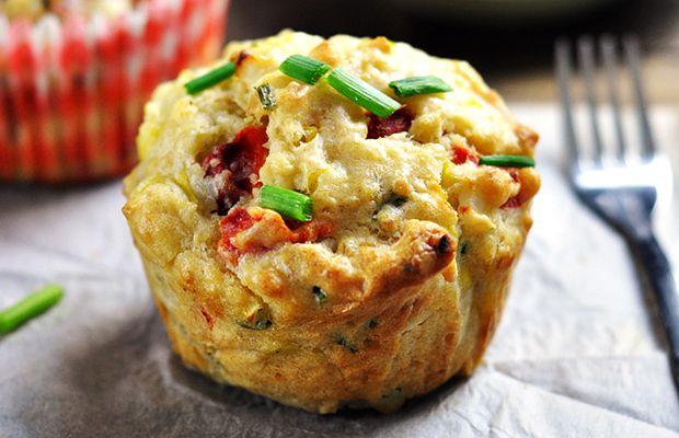 slané muffiny z Quinoa