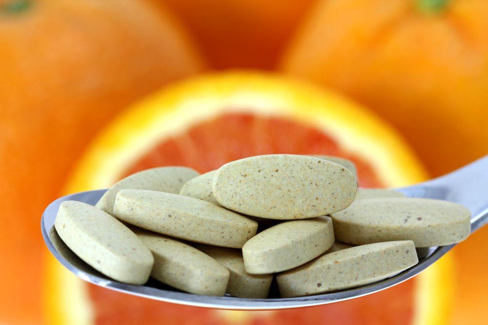 Předávkování vitamínem C
