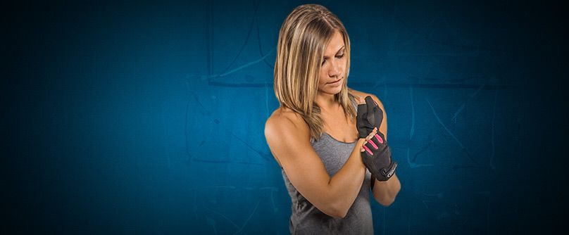 fitness dámské rukavice