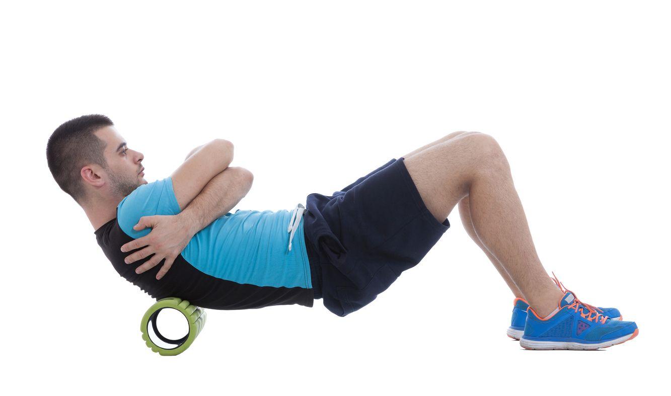 pěnový válec na cvičení Fitness Roller Green gymbeam