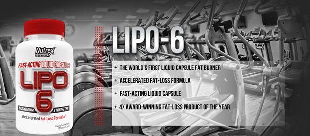 Lipo 6 Nutrex - spalovač tuků
