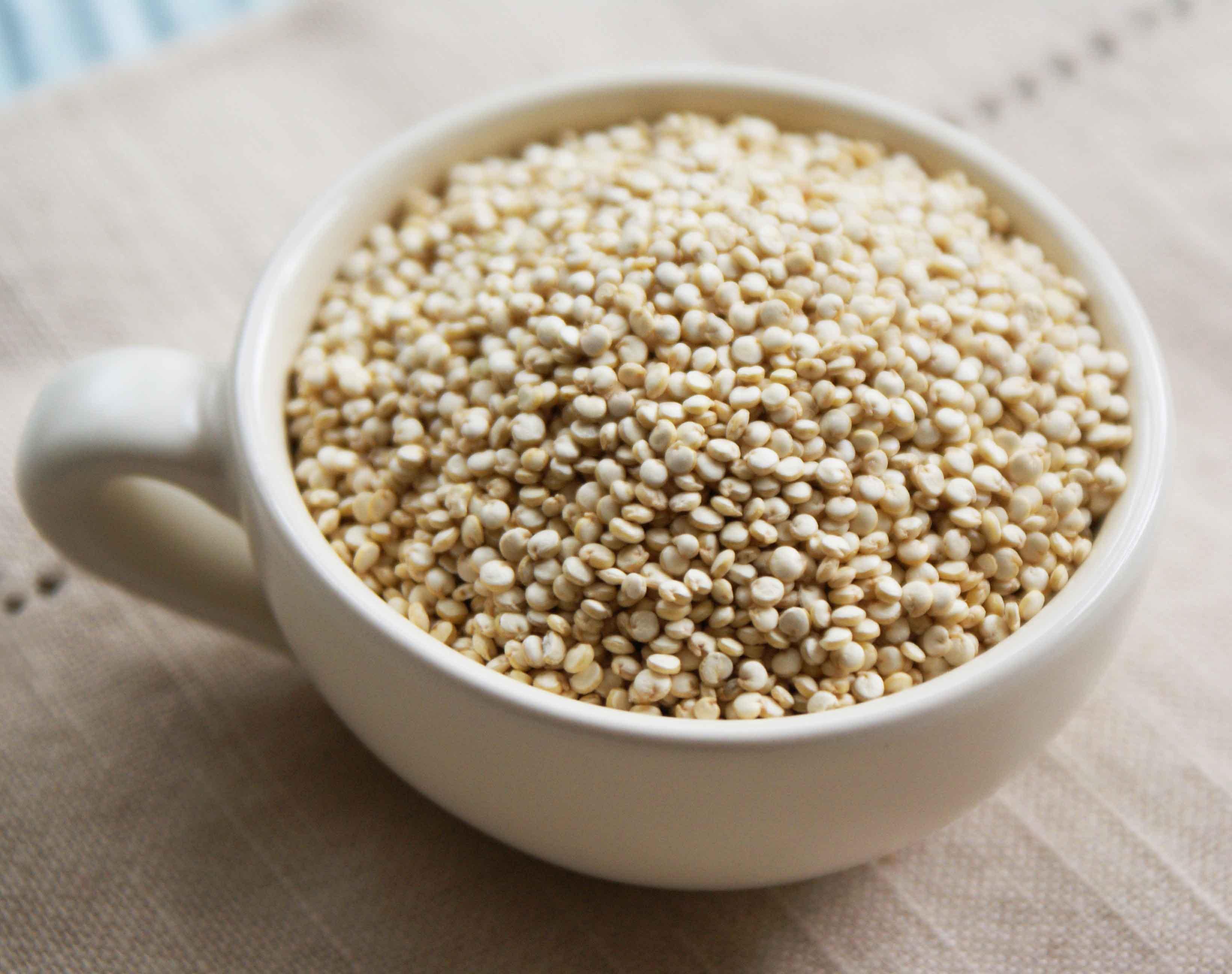 quinoa fitness recepty