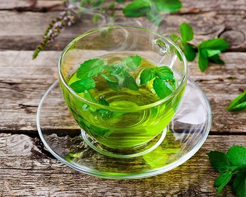 stévie čaj na trávení