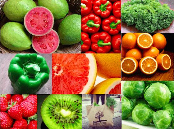 Zdroje vitamínu c v potravinách