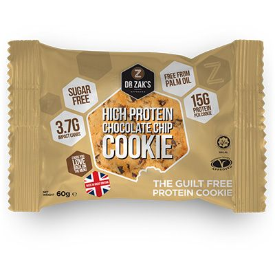 Dr Zaks High Protein Cookie 60 g - triple chocolate