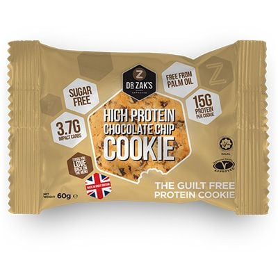 Dr Zaks High Protein Cookie 60 g - chocolate chip