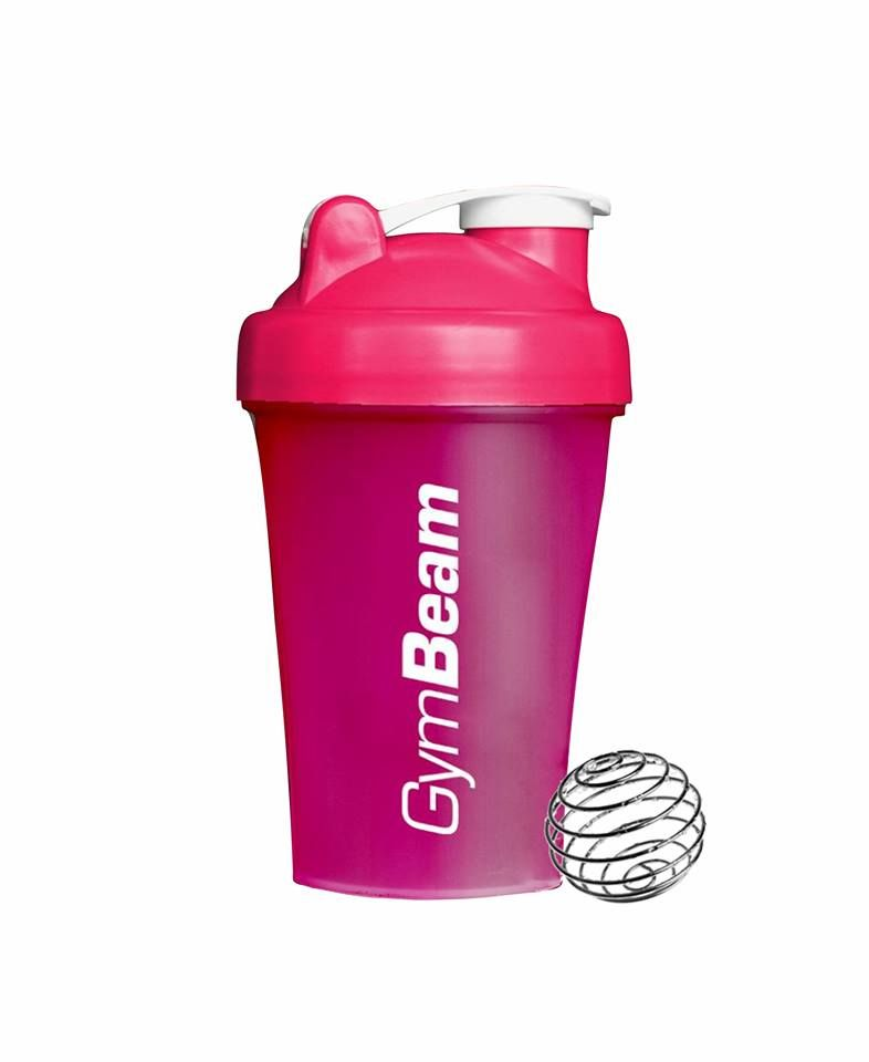 GymBeam Šejker Blender Bottle Pink 400 ml