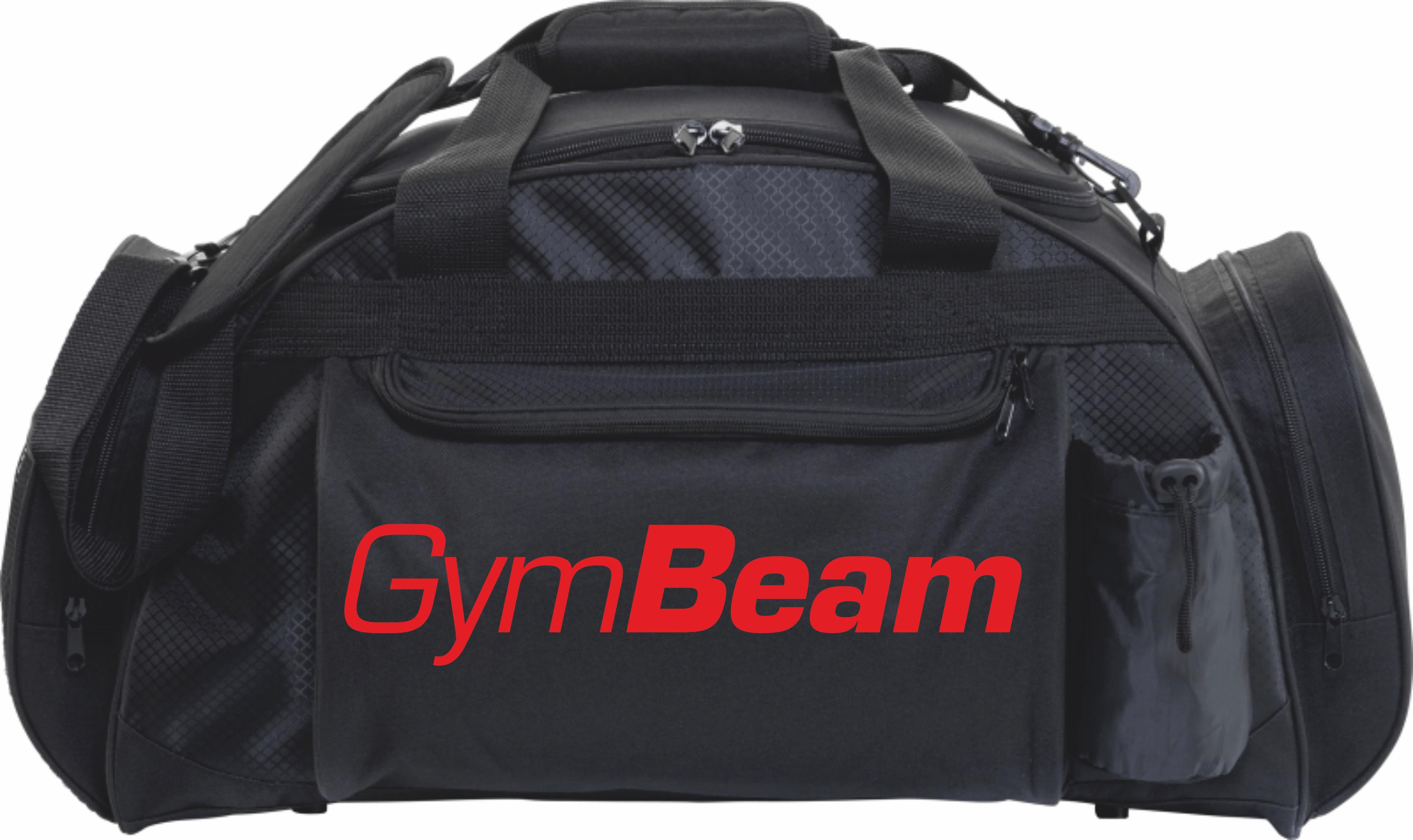 c2be5093d2 Športová taška Profi Black - GymBeam - čierna