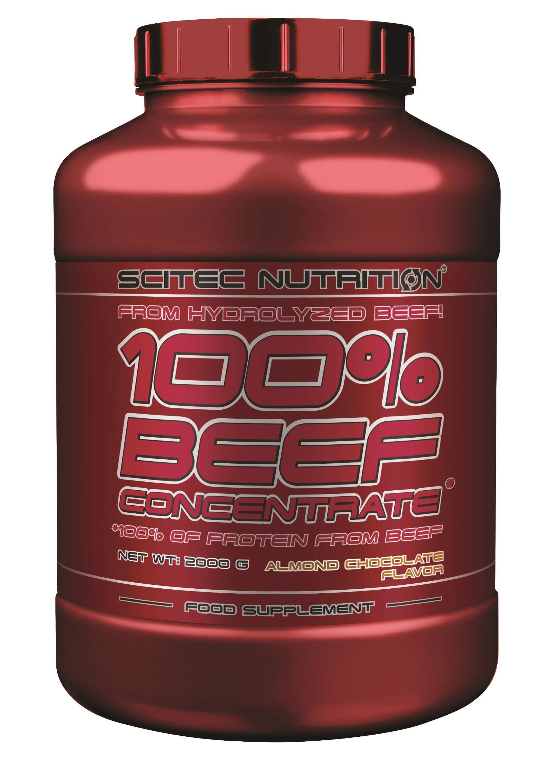 Scitec Nutrition 100 Beef Concentrate - 2000 g - almond chocolate