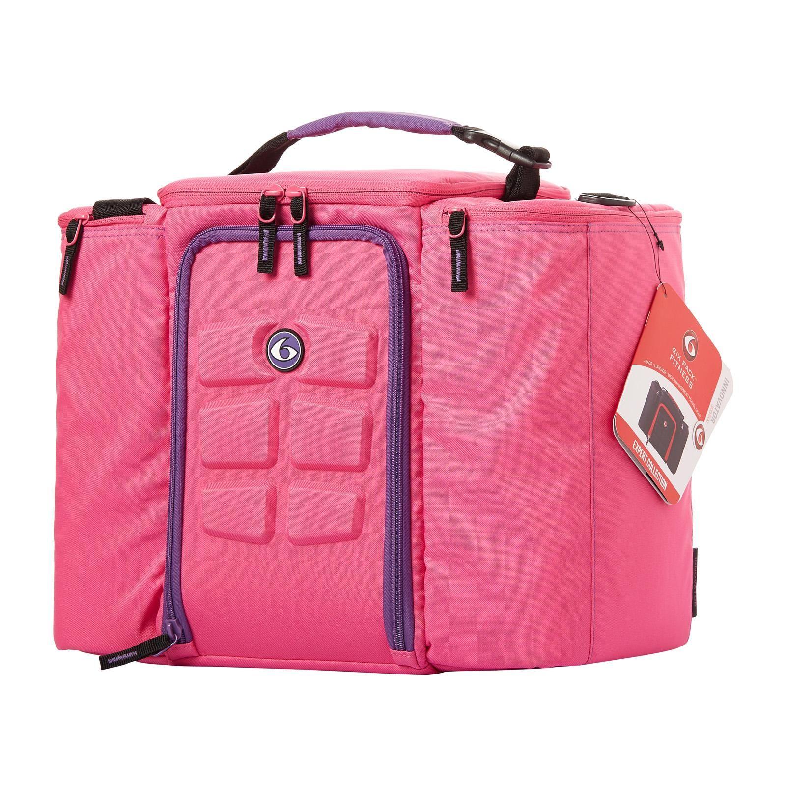 Taška na jedlo Expert Innovator 500 Pink/Purple - 6 Pack Fitness