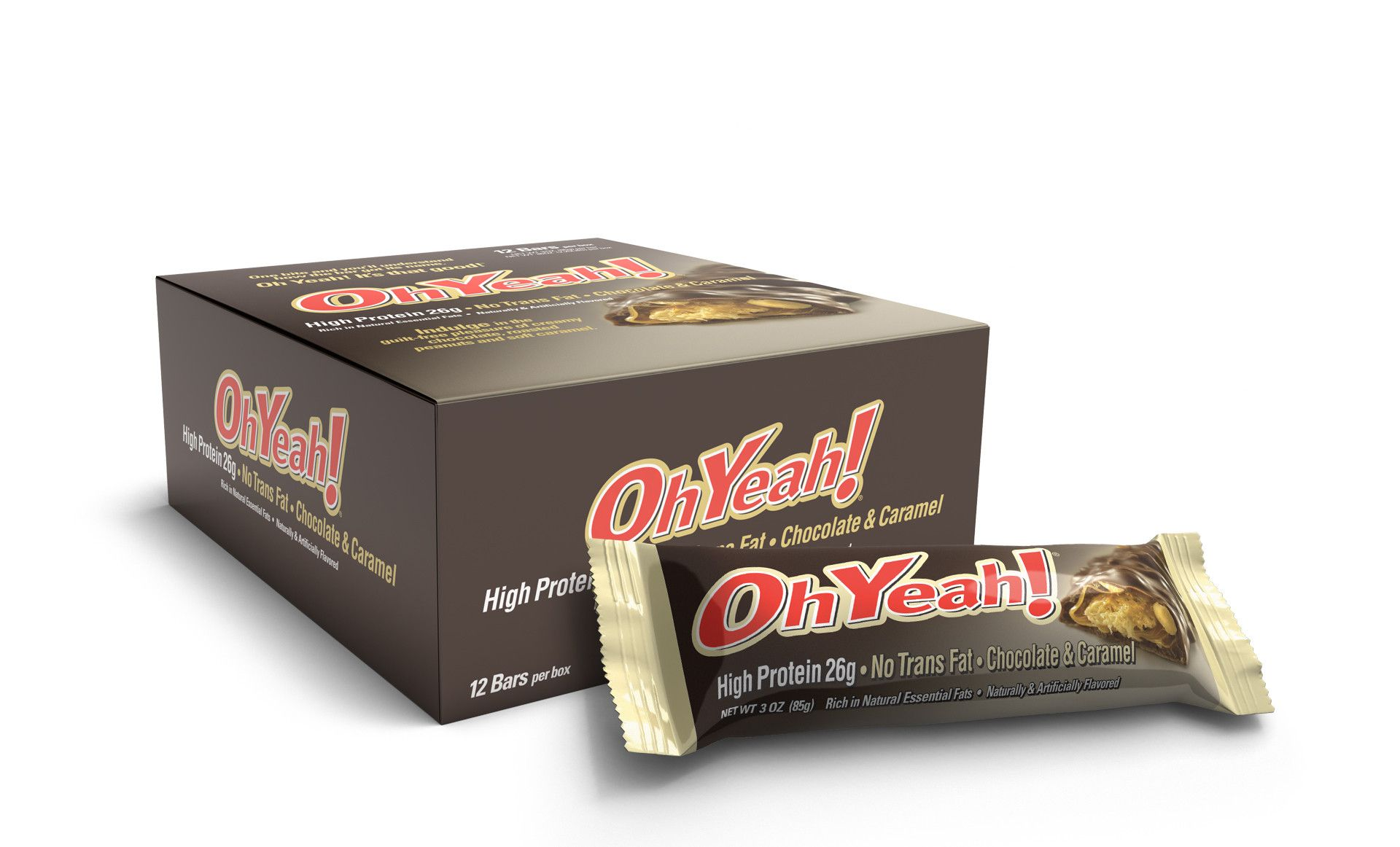 ISS RESEARCH Oh Yeah Bar 85 g - chocolate caramel