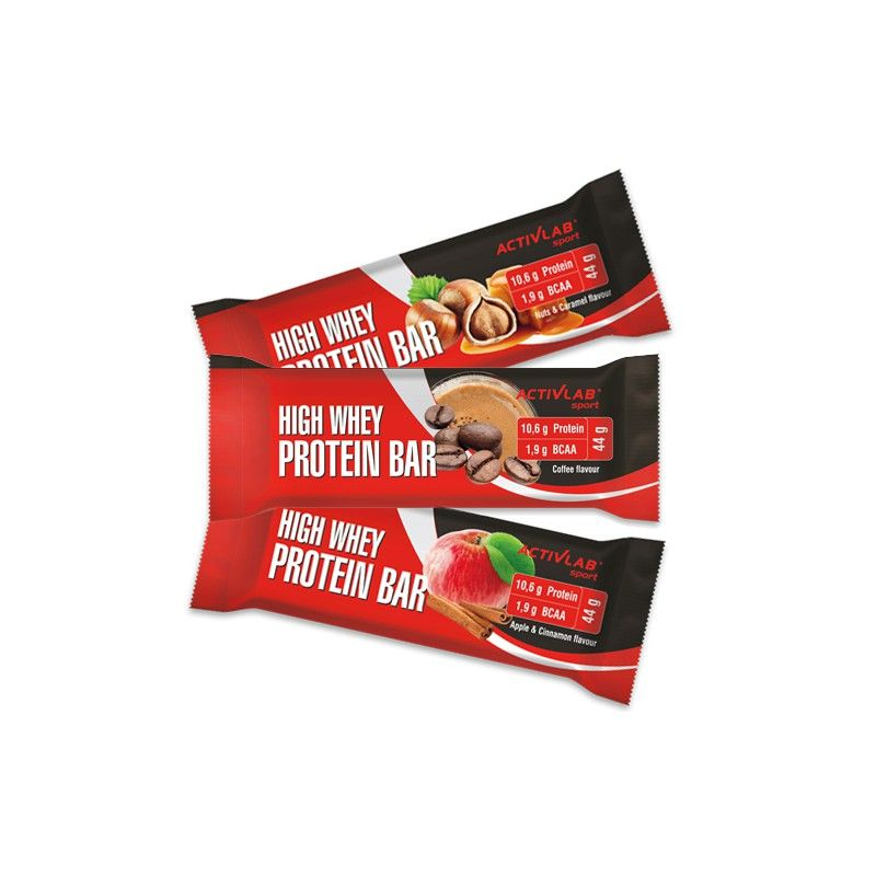 ActivLab High Whey Protein Bar 44 g - apple cinnamon