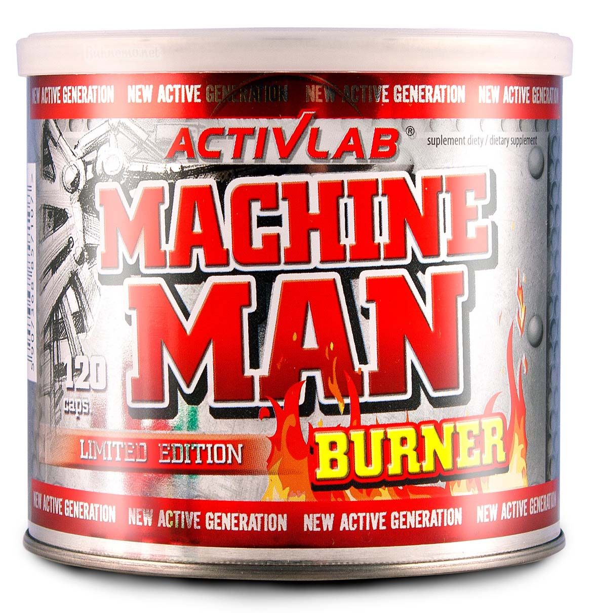 Activlab Machine Man Burner 120 tabliet