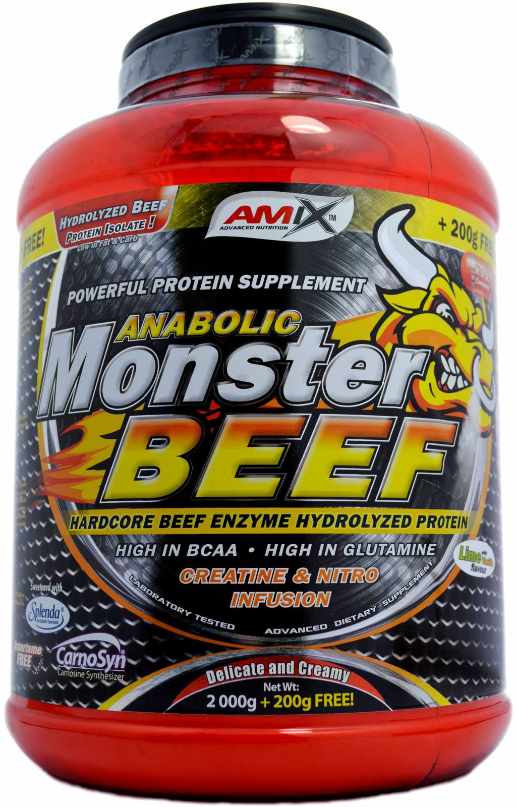AMIX Anabolic Monster BEEF 90 Protein 2200 g - chocolate