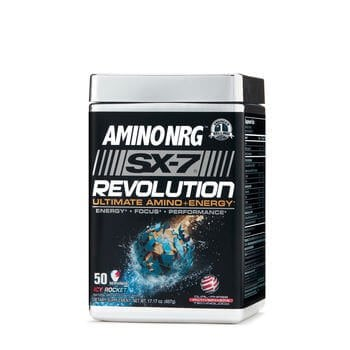 MuscleTech Amino NRG SX-7 Revolution 529 g - Sour Peach Candy